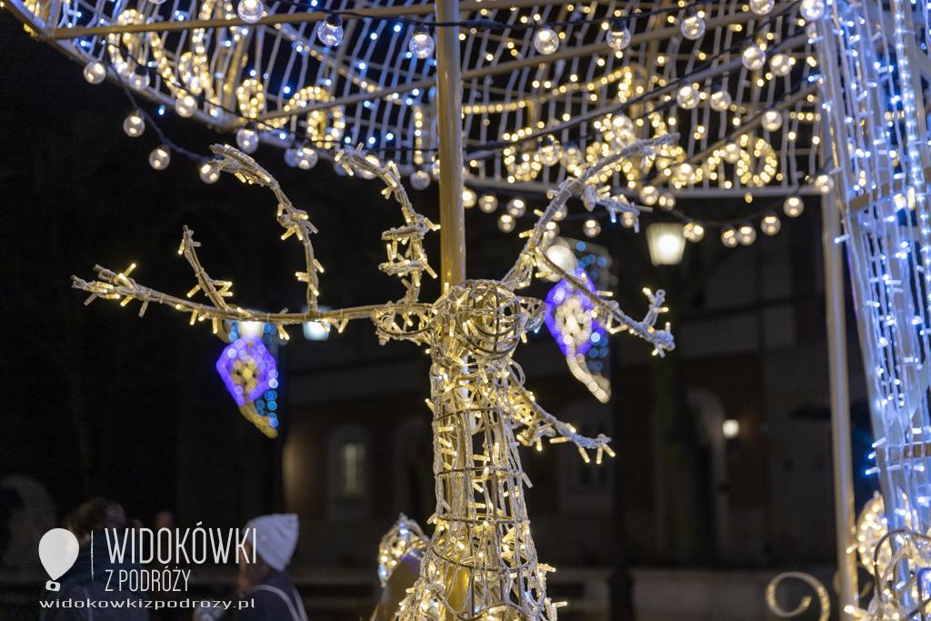 Spacerkiem po Warszawie czyli pożegnanie iluminacji