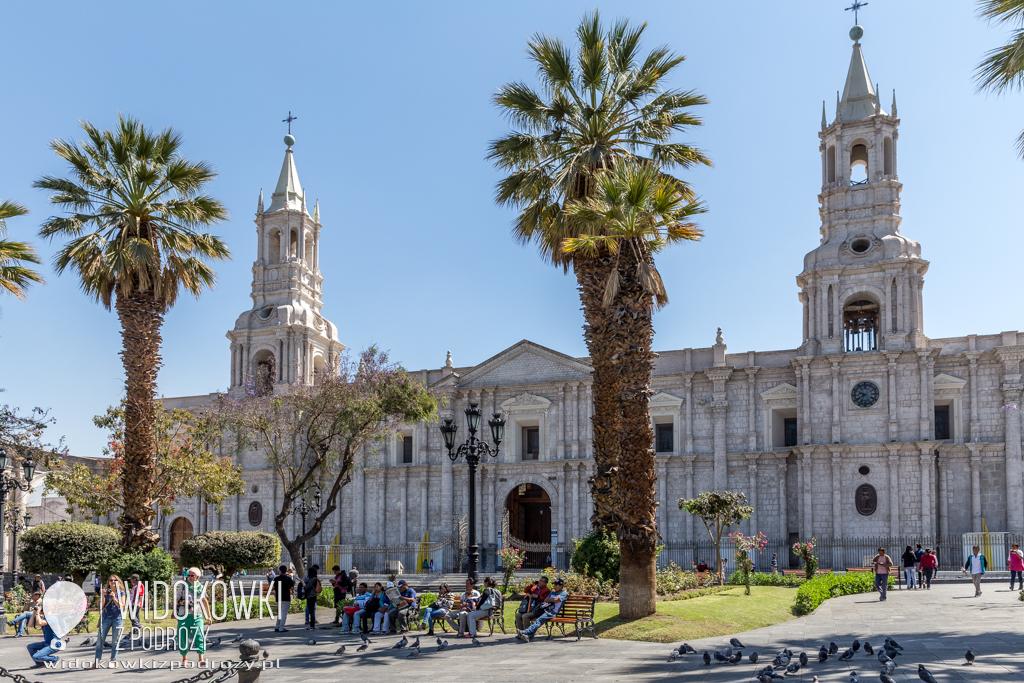 Arequipa i jej Plaza de Armas, czyli Białe Miasto Peru