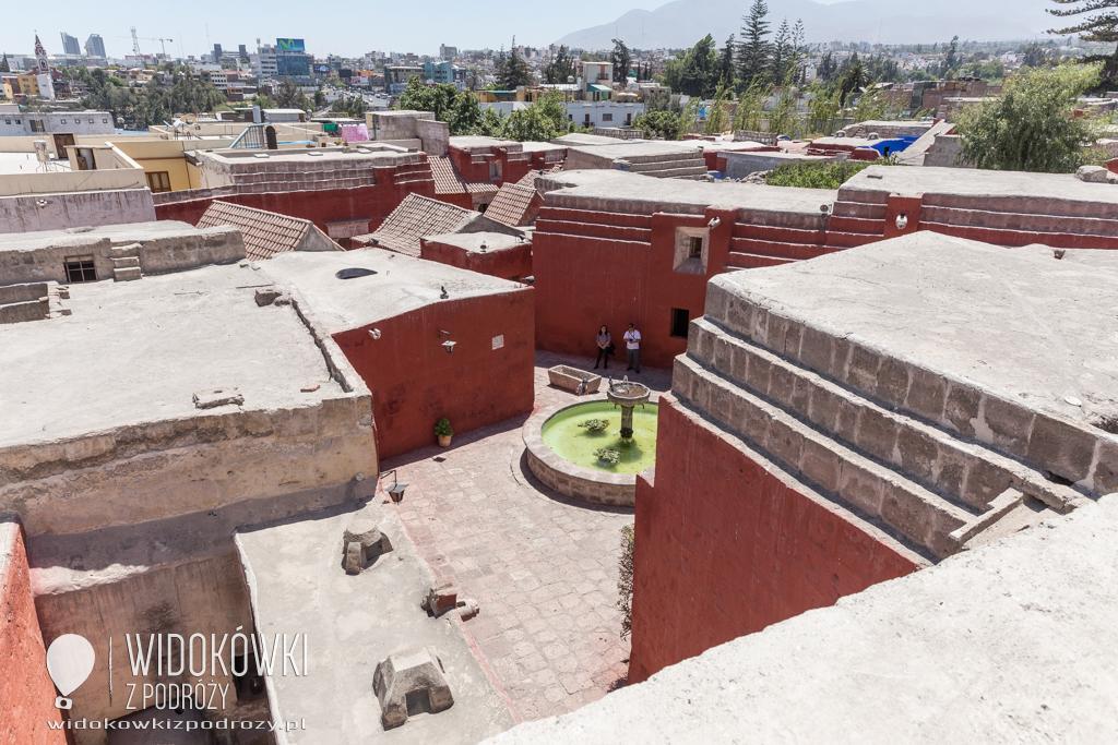 Monasterio de Santa Catalina, czyli nowicjat dla zamożnych w Arequipie