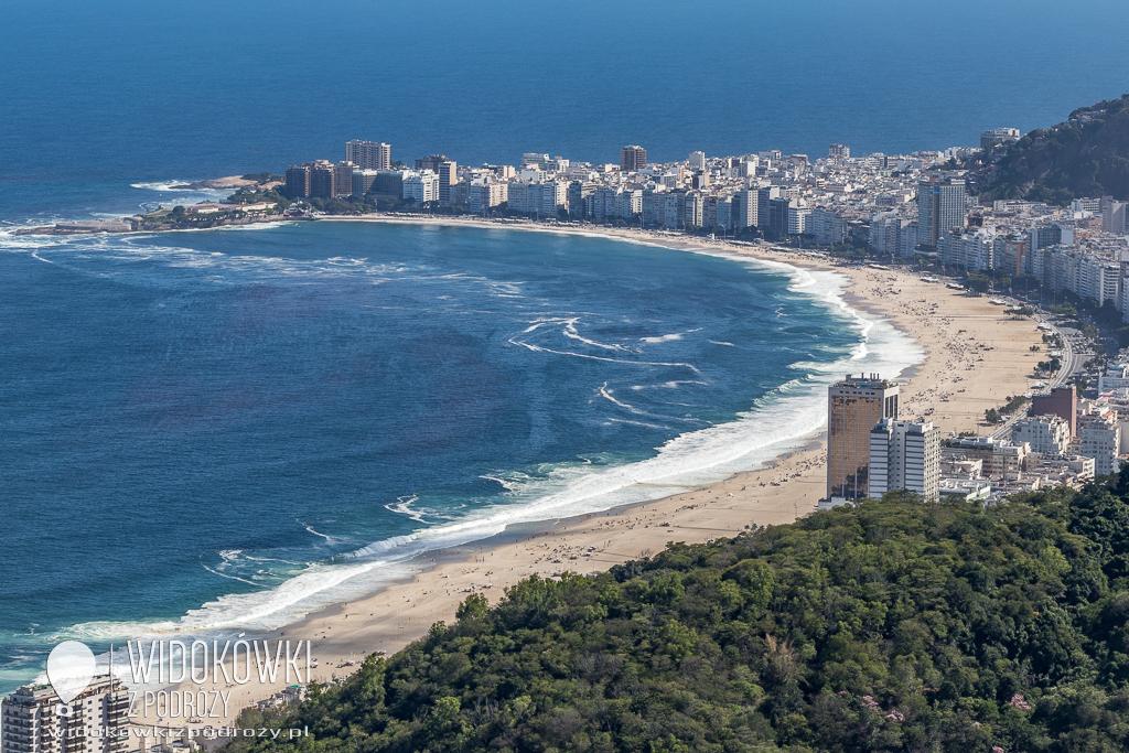 At the copa Copacabana…, czyli spacerując brazylijską plażą
