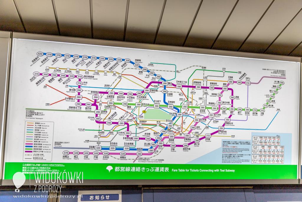 Hanzomon i Chikatetu, czyli opanowaliśmy tokijskie metro