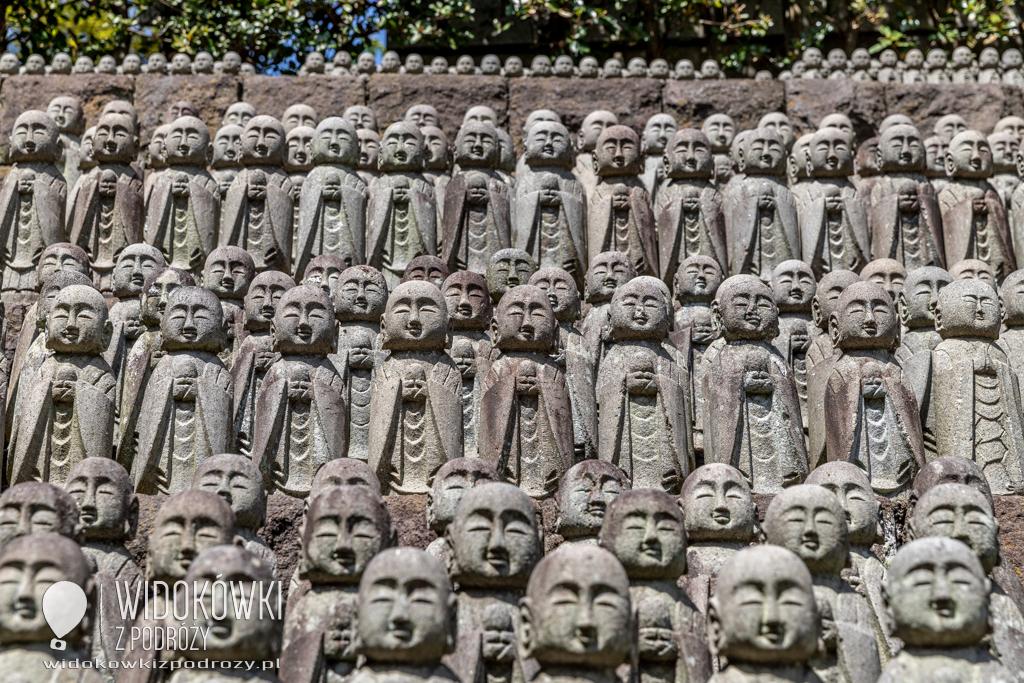 Hasadera i Jizo, czyli tysiące małych posążków