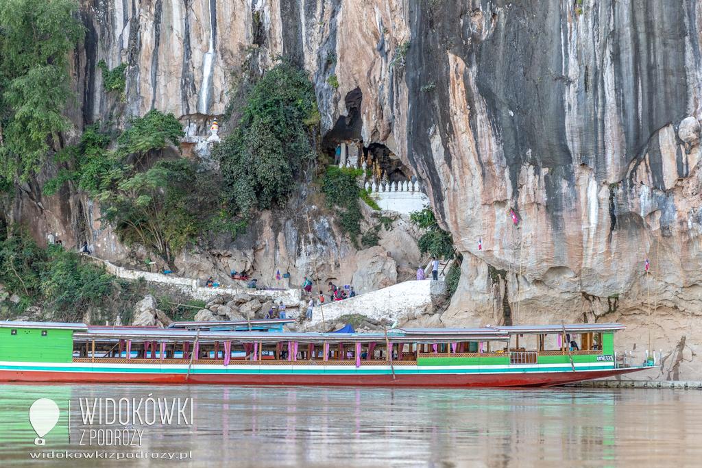 Jaskinie Ban Pak Ou, czyli tysiące posążków Buddy
