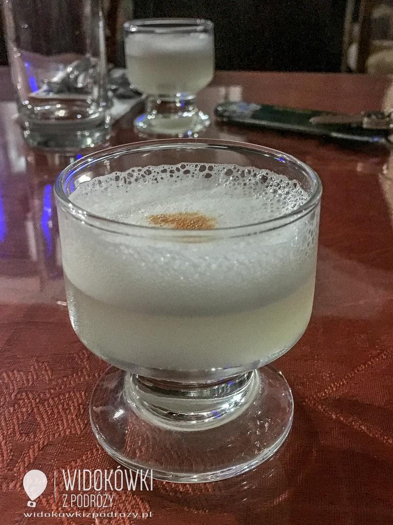 Pisco sour – czyli koktajl po peruwiańsku