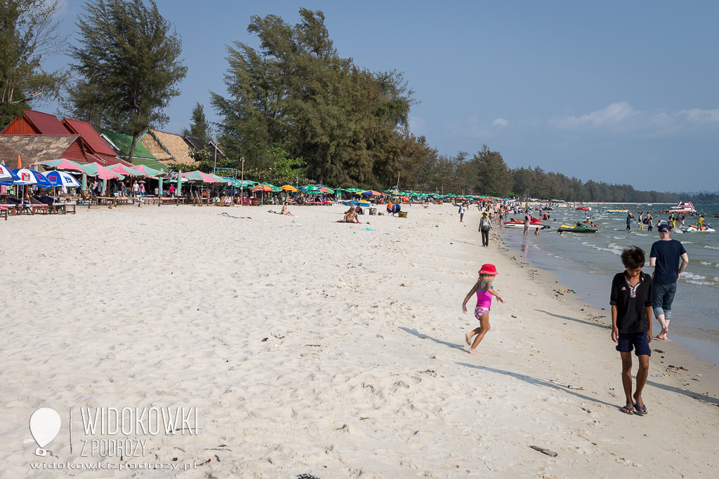 Niedziela na plaży, czyli co robić w leniwe popołudnie w Sihanoukville