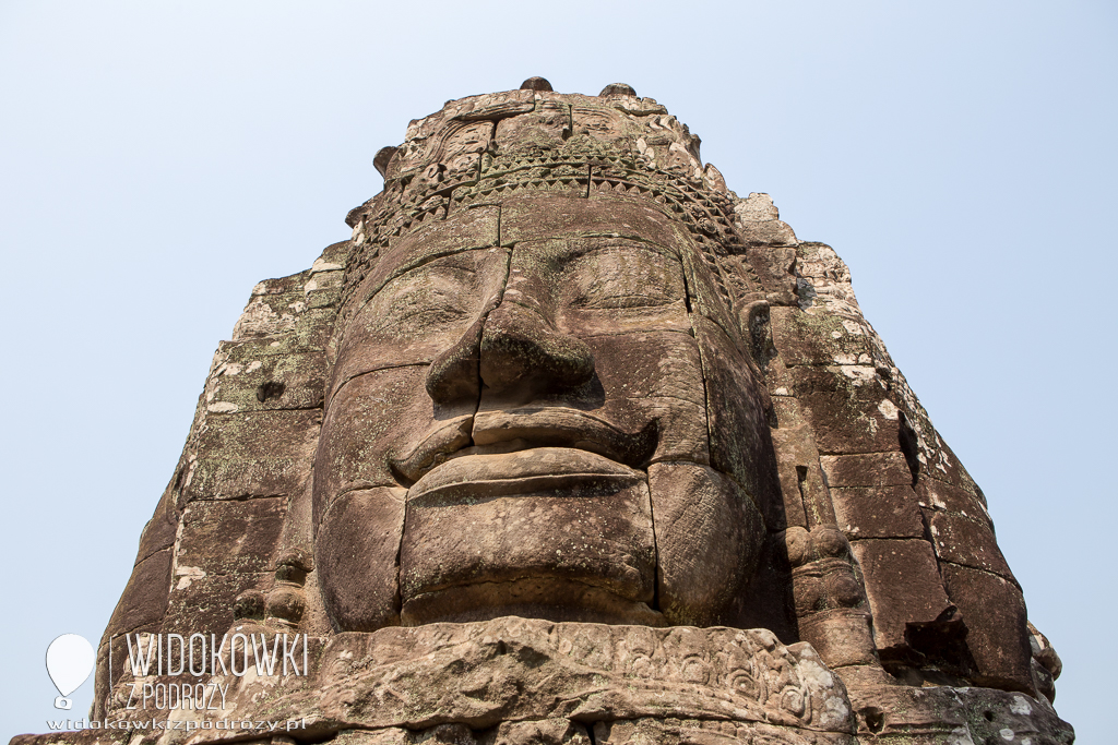 Olbrzymie głowy wokół nas, czyli świątynia Bayoan w Kambodży