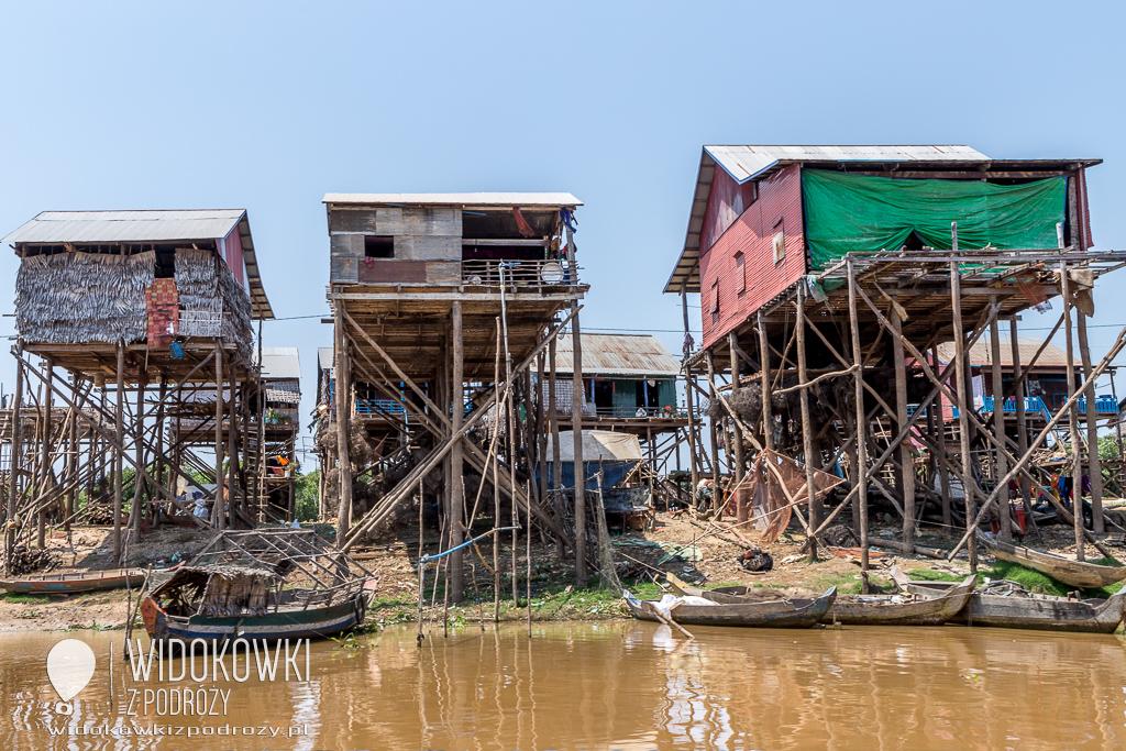 Wioska na palach, czyli jezioro Tonle Sap w Kambodży