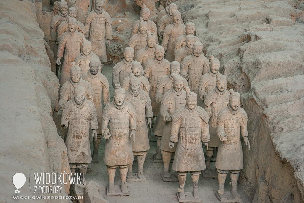W grobowcu cesarza Qin Shi Huang Ling