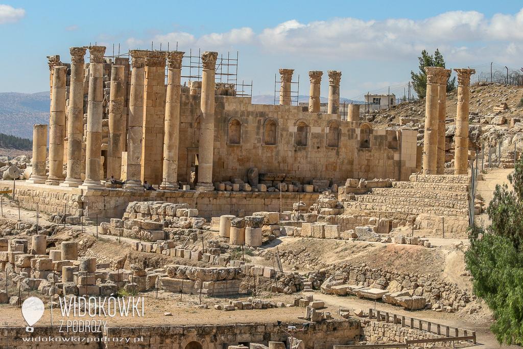 Morituri te salutant, czyli starożytne ruiny Jerash w Jordanii