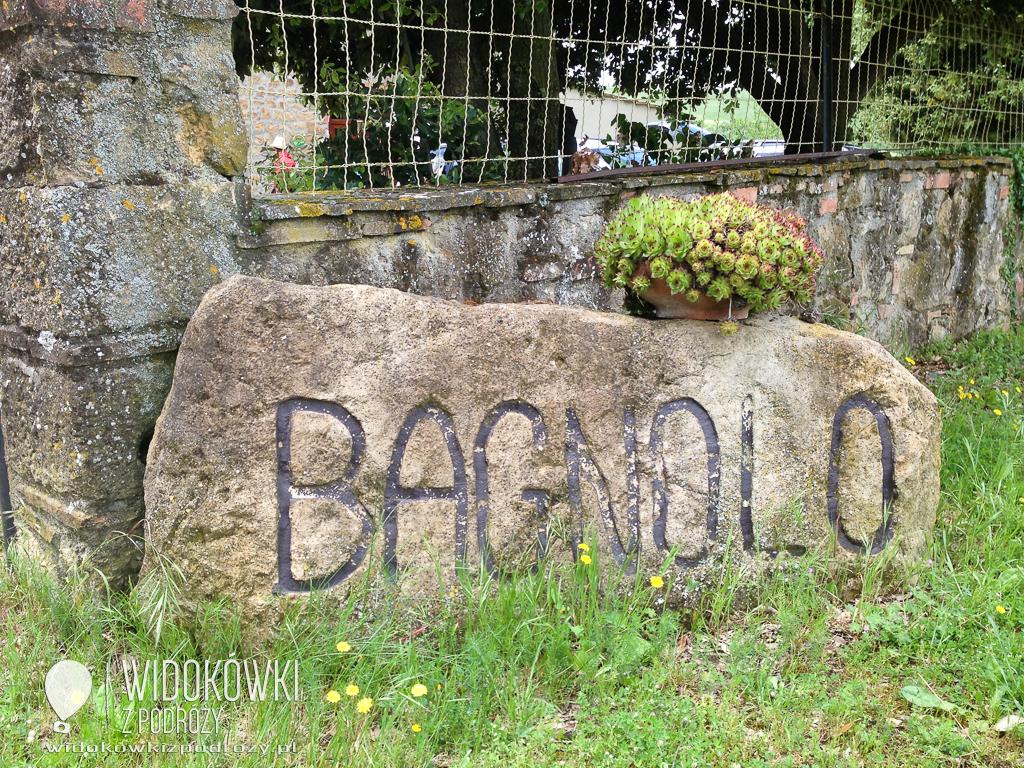 Meczenie owiec, czyli Agriturismo Bagnolo w Toskanii