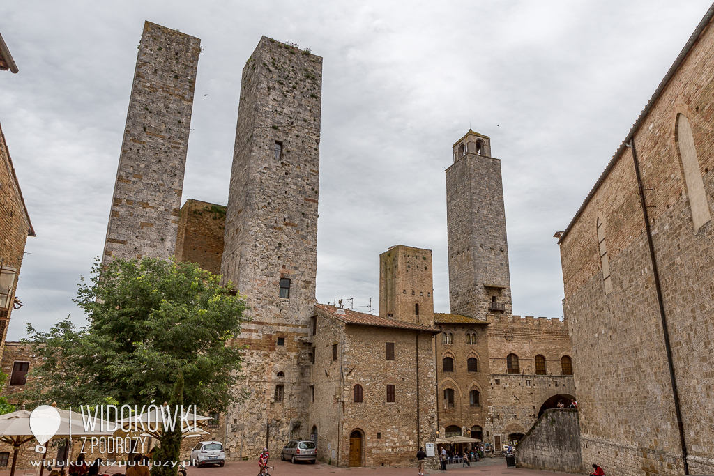 Miecz w kamieniu i czternaście wież, czyli San Galgano i San Gimignano