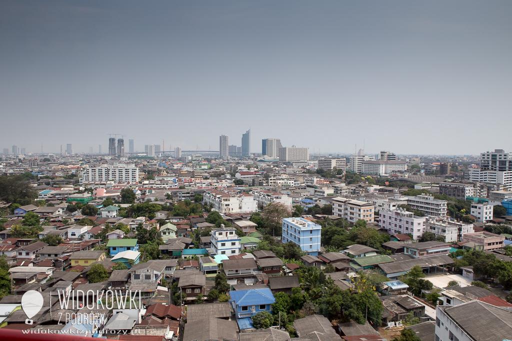 Bangkok z lotu ptaka, czyli widok na stolicę Tajlandii