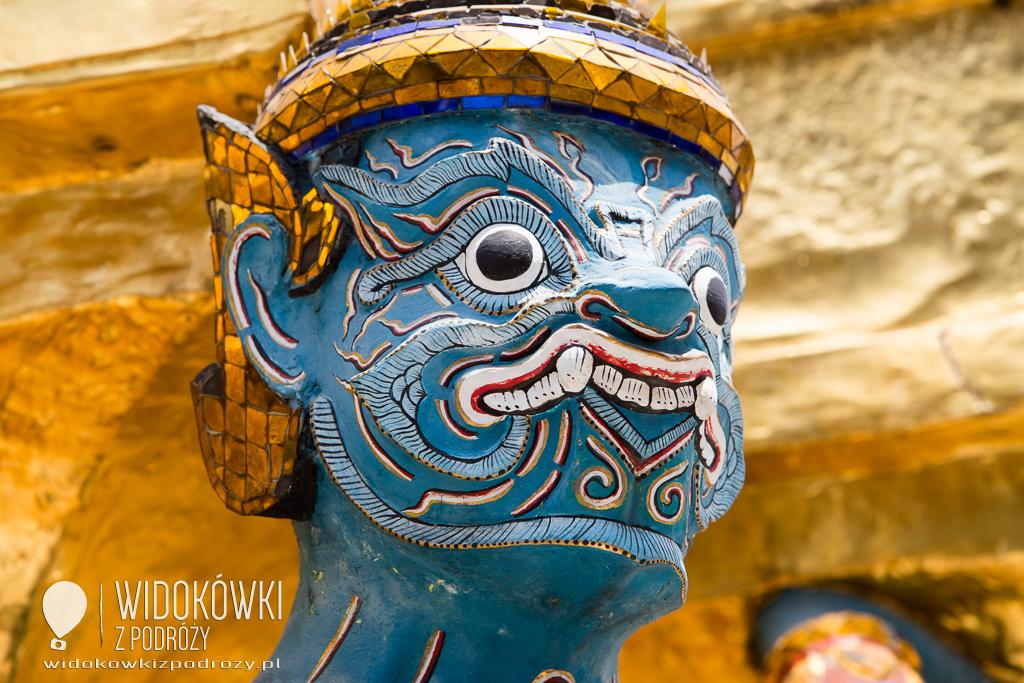 Potęga Szmaragdowego Buddy, czyli Wielki Pałac i Wat Phra Keo w Bangkoku