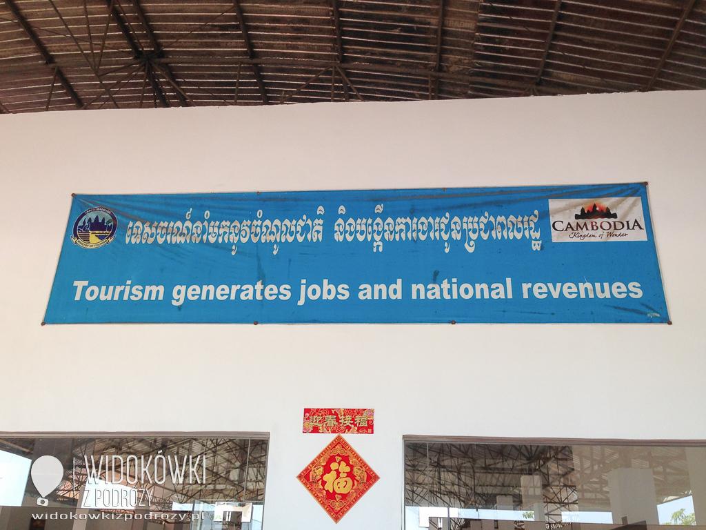 Witaj turysto, czyli granica Kambodży