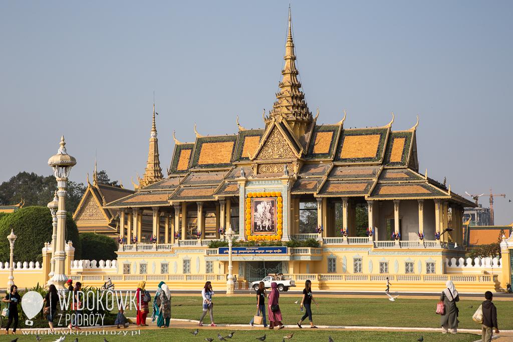 Klejnot w osłabionej koronie, czyli Pałac Królewski w Phnom Penh