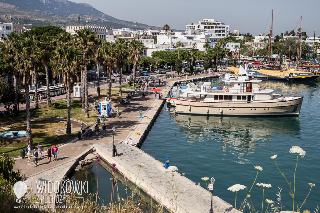 Miasto Kos na wyspie Kos,czyli wakacyjne greckie wspomnienia