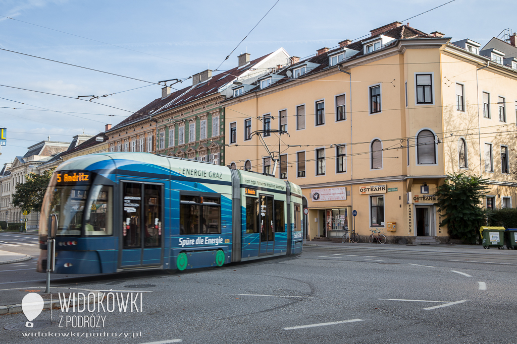 Poranek w Grazu, czyli czas na mały odpoczynek w podróży