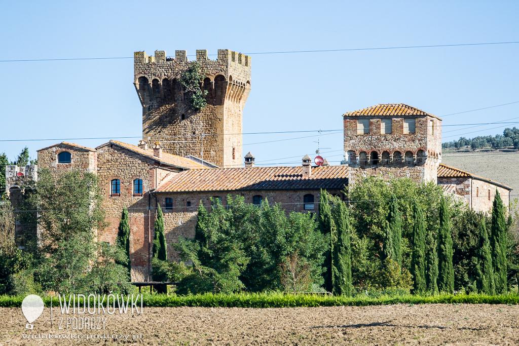 Wakacje z duchami, czyli mieszkamy w zamku Spedaletto