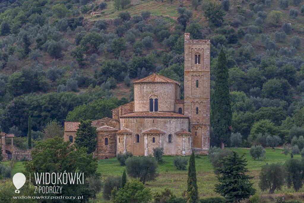 Monte Olivetto Maggiore i Sant' Antimo, czyli włoskie opactwa wczoraj i dziś