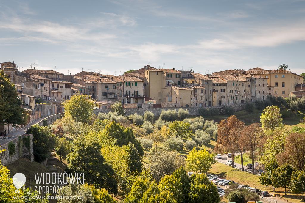 Colle di Val d'Elsa i Asciano, czyli takie sobie miasteczka w Toskanii