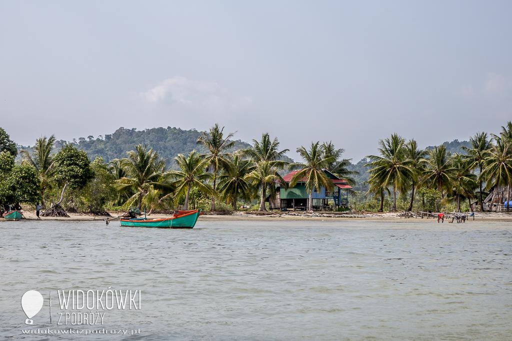 Poławiacze krewetek, czyli Park Narodowy w Sihanoukville w Kambodży