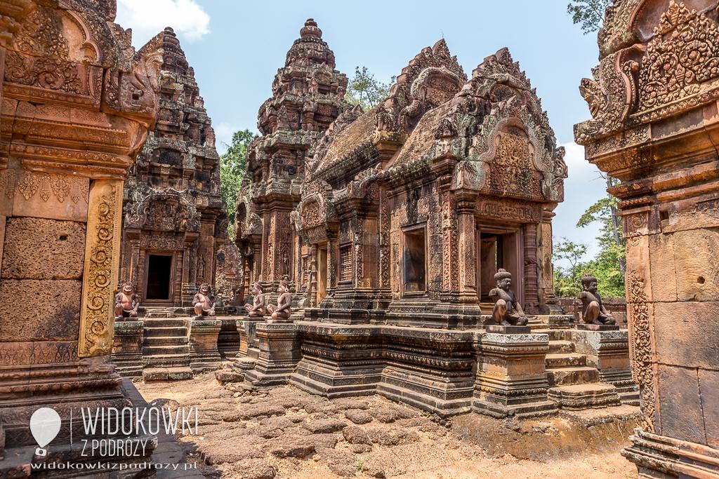 Banteay Srei, czyli Cytadela Kobiet w Kambodży