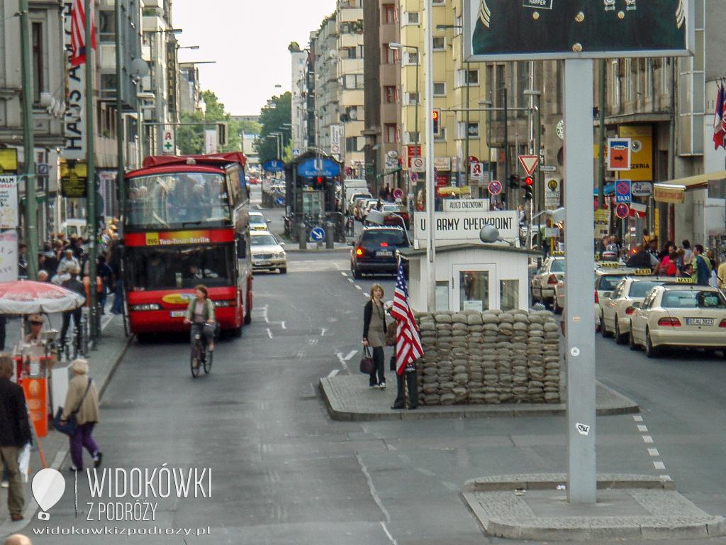Sie verlassen den amerikanischen Sektor, czyli Checkpoint Charlie w Berlinie