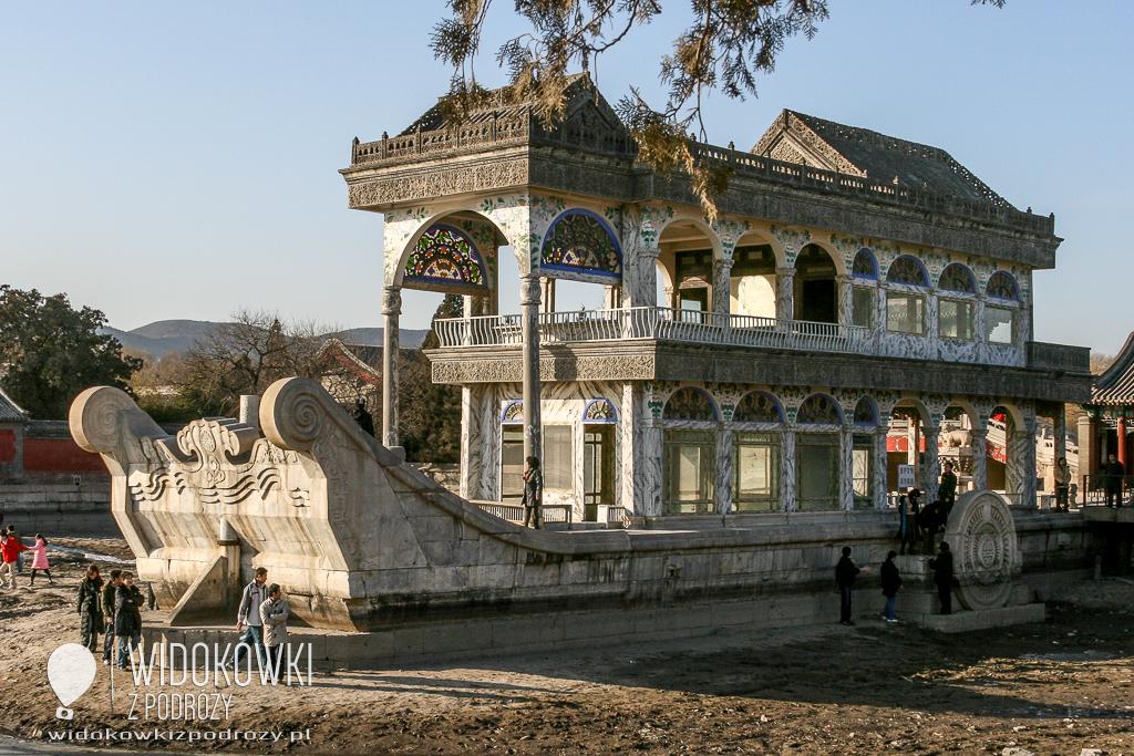 Cesarzowa Wdowa i Marmurowy Statek, czyli Letni Pałac Yiheyuan w Pekinie