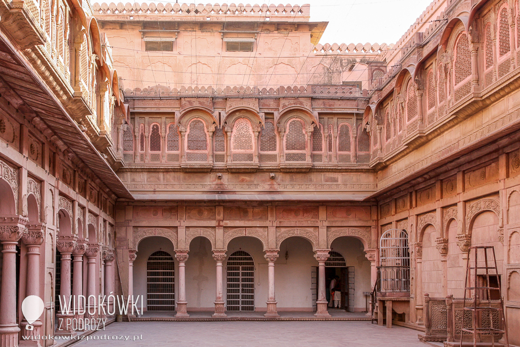 Junagarh Fort w Bikaner, czyli Incredible India