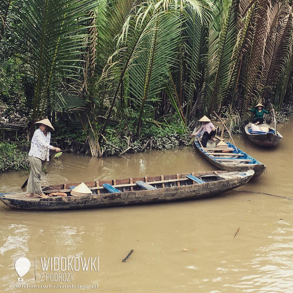 Wietnam południowy czyli Sajgon i delta Mekongu