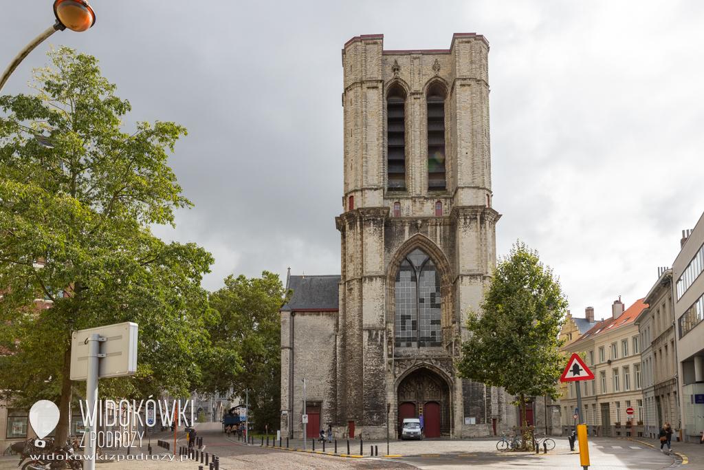 Spacerkiem po Gandawie, czyli Kościół Świętego Michała