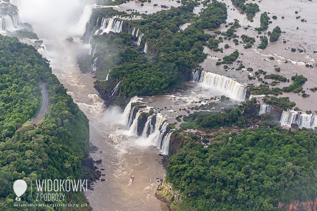 Rety ile wody, czyli Cataratas do Iguacu Brazylia