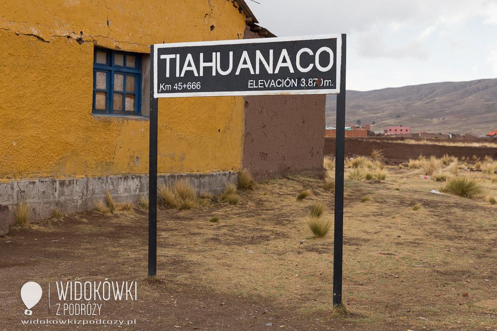 No foto, czyli tajemnicze ruiny w Tiahuanaco w Boliwii