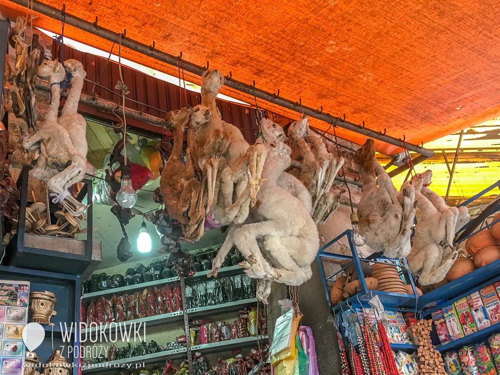 Od rzucania uroków to ja tu jestem….., czyli targ czarownic w La Paz
