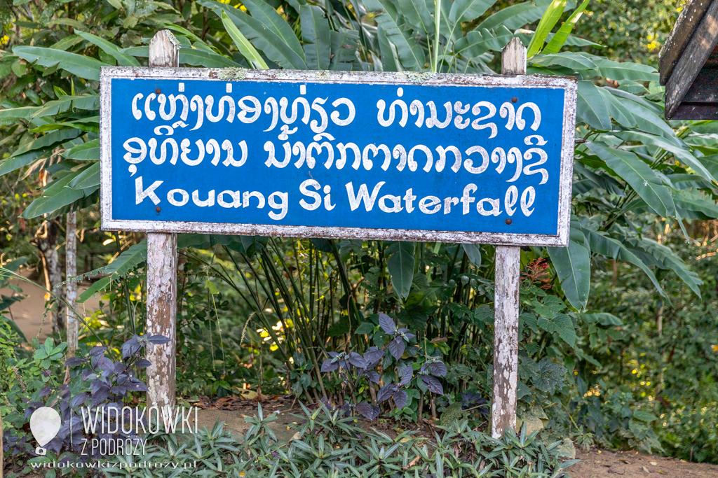 Wodospad Kuang Si, czyli trochę relaksu w dżungli